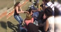 Increíble: fuerte pelea ENTRE PADRES en un partido de fútbol infantil