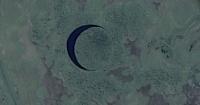 Descubren una misteriosa isla circular que se mueve y tiene a los científicos intrigados