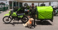 Policía creó una ambulancia móvil para los perros callejeros y todos lo aplauden