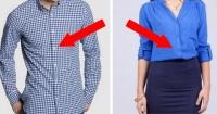 ¿Por qué las camisas de hombres y mujeres tienen los botones al lado opuesto? Esta es la razón