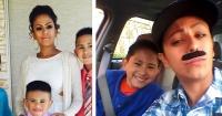 Se disfrazó de hombre para que su hijo celebrara el día del padre en su escuela