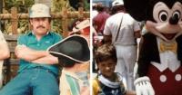 Así fue el día en que Pablo Escobar se paseó por Disneyland