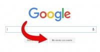"""¡No todos lo saben! Esta es la función del botón """"Me siento con suerte"""" de Google"""