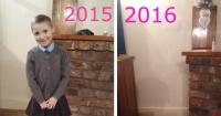 Una madre publicó el antes y el después de su hija para crear conciencia en todos