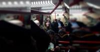 Conductora del tren subterráneo olvidó apagar su micrófono y todos se enteraron que era infiel