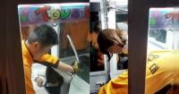 ¿Por qué esta chica terminó atascada dentro de una máquina de peluches?