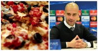 Fanático del Manchester United demandó a un restaurante por enviarle pizza con la cara de Guardiola