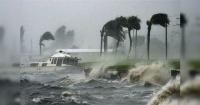 """La espeluznante """"forma"""" que tomó el huracán Matthew en su paso por Haití"""