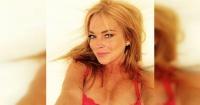 La foto en topless que Lindsay Lohan se arrepintió de subir y decidió borrar
