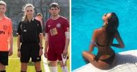 La sexy árbitro rusa que tiene al mundo impactado con su envidiable figura