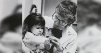 En 1988 una enfermera cuidó a esta bebé gravemente enferma y 28 años después ocurrió esto