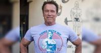 Schwarzenegger publica por primera vez una foto con el hijo que tuvo con su empleada doméstica