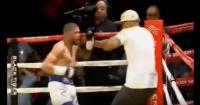Boxeador se pasó de rosca y se peleó ¡hasta con el entrenador de su rival!