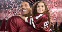 """Así fue el reencuentro entre """"La Roca"""" y """"Peyton"""" a 9 años de """"Entrenando a Papá"""""""