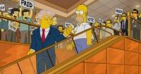 El engaño en que muchos medios cayeron sobre Los Simpson y el triunfo de Donald Trump