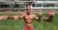 El multimillonario Gianluca Vacchi logró el sueño de su vida y conoció a su ídolo
