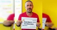 Se hizo millonario al ganar la lotería pero ahora arriesga cadena perpetua