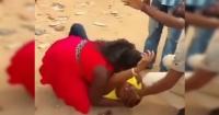 Hombre fingió su muerte para sorprender a su novia con una bizarra pedida de mano