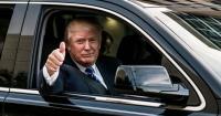 Estos son los lujosos autos que Trump tendrá que dejar en casa ahora que es presidente