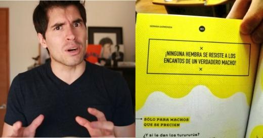 """Las repudiables y machistas frases de """"Hola, Soy Germán"""" que provocan indignación en las redes sociales"""