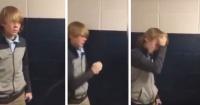 Lo expulsaron de la escuela por comenzar una pelea pero no sabían cuál era la verdad