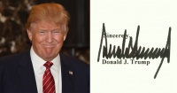 Esto dice la firma de Donald Trump sobre su personalidad y es para preocuparse