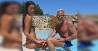 Así de diferente lucía Gianluca Vacchi, el millonario italiano que es furor en Internet