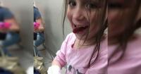 La foto de una niña con cáncer tras la quimioterapia que te romperá el corazón