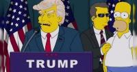 Así respondieron Los Simpson a sus predicciones sobre Donald Trump