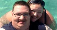 """El sorprendente """"antes y después"""" de una pareja que llegó a pesar más de 200 kilos"""