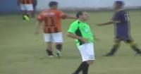 Impresentable: árbitro dirigió borracho y fue detenido por golpear a un jugador