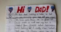 La conmovedora carta de un niño a su padre muerto pidiendo que vuelva para Navidad