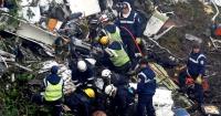 Milagro que haya sobrevivientes: video muestra el dramático escenario tras el impacto del avión del Chapecoense