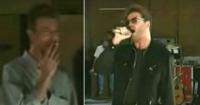 Quédate con alguien que te mire como Bowie mira a George Michael