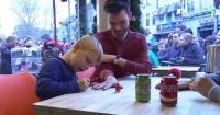 Niño con grave enfermedad sorprende a todos al recaudar millonaria cifra solo pintando uñas