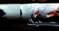 """Papá héroe: con un """"movimiento ninja"""" salva a sus hijos de morir atropellados"""