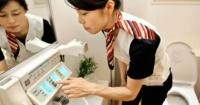 En Japón hay papel higiénico en los baños para limpiar…¿los celulares?