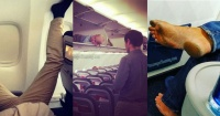 Passenger Shaming: las fotos que muestran el lado más asqueroso y freak de viajar en avión