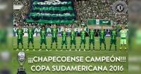 CONMEBOL declara al Chapecoense como campeón de la Copa Sudamericana