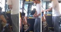 Dos chicos vieron a un niño descalzo en el bus y ahora todo el mundo aplaude lo que hicieron