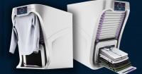 La revolucionaria máquina que lava y plancha por ti en minutos