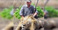 Se hizo famoso por posar con un león muerto y la vida se encargó de cobrar venganza