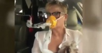El tenso momento vivido por Xuxa luego que su avión fuera golpeado por un rayo