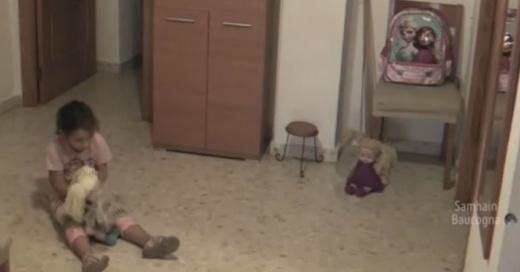 Instalaron cámaras para saber qué asustaba a su hija y lo que descubrieron fue aterrador