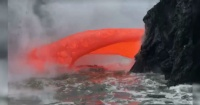 El hipnotizante video de un volcán escupiendo lava que conquista a millones de personas