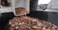 """Hombre se """"vengó"""" y pagó sus impuestos con más de 300 mil monedas de un centavo"""