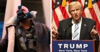 ¡Son iguales! El discurso que Trump le robó a Bane, el villano Batman, al asumir el poder