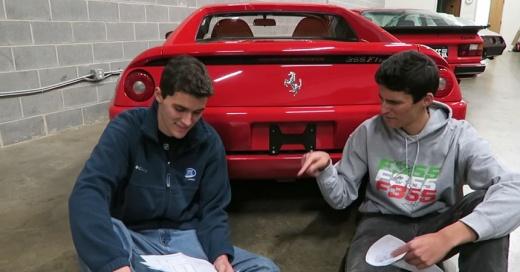 Creían que hacían el negocio del siglo comprando este Ferrari usado pero luego supieron la verdad