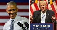 La descomunal diferencia entre Obama y Trump reflejada en 10 segundos