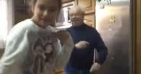 Al ritmo de Luis Fonsi y Daddy Yankee: este abuelito trolleó a su nieta épicamente